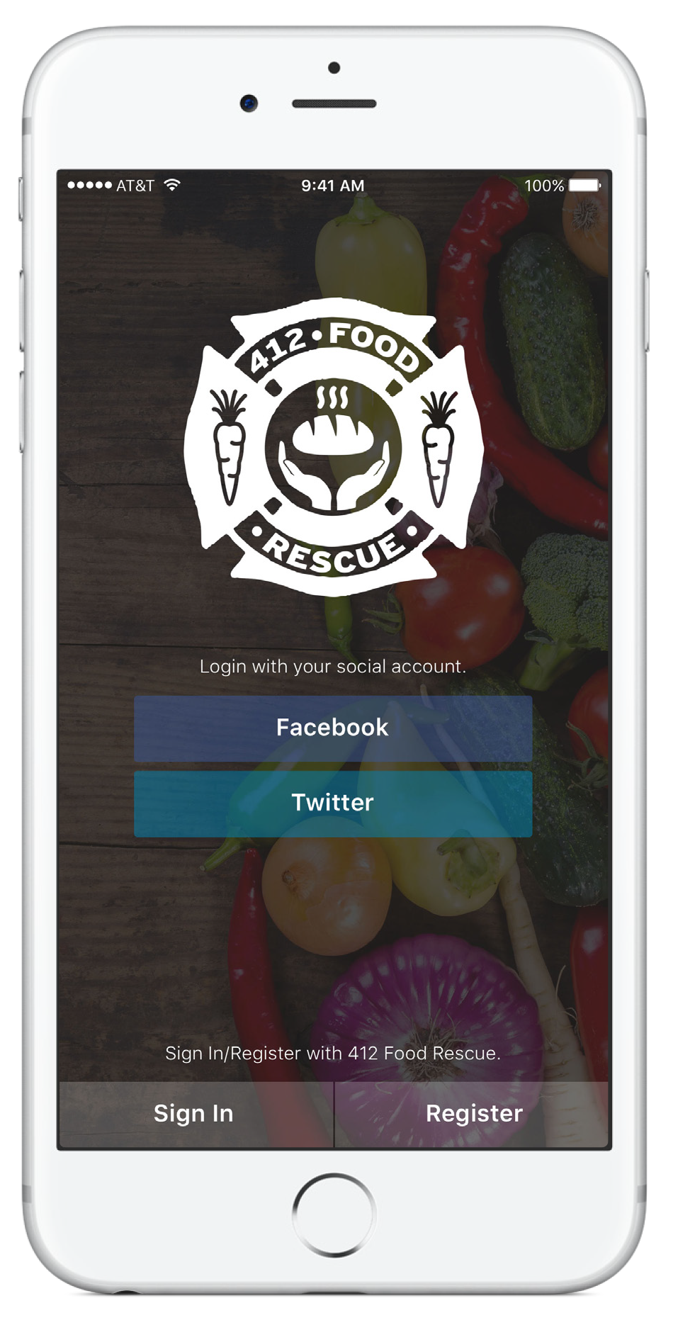 Food Rescue Hero app