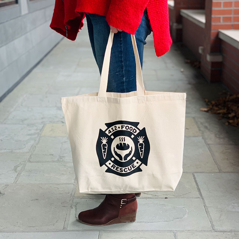412 Food Rescue tote bag